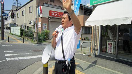 2014_06_15_まちかど街頭演説