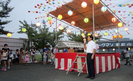 2014_08_17_新宿町盆踊り