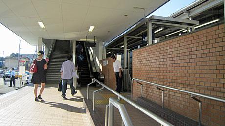 2014_08_05_鶴ヶ島駅朝立ち