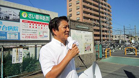 2014_08_05_鶴ヶ島駅街頭演説
