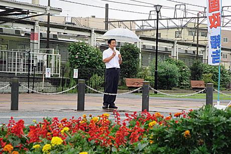 2014_09_01_東松山駅頭