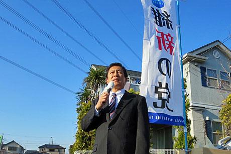 2014_11_23_新町街頭