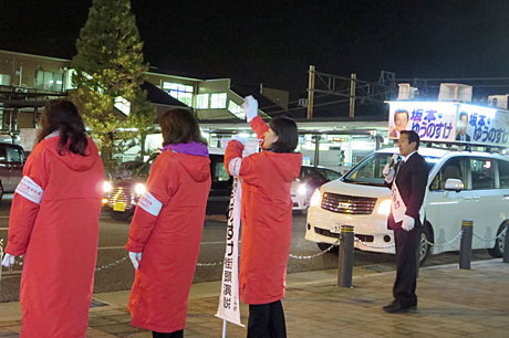 2014_12_12_駅・夜