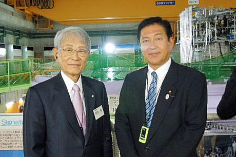 2015_06_10_理研理事長と