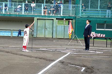 2015_10_03_野球スポ少選手宣