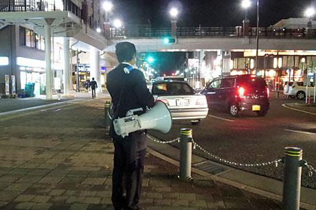 2015_12_11_駅街頭