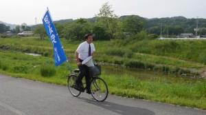 2016_05_08_川沿い自転車