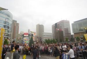 2016_06_22_川口駅出陣式